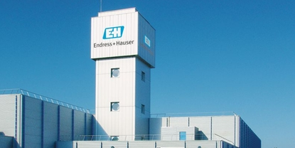 Endress+Hauser Flow France, water tower