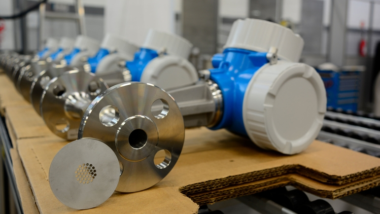Endress+Hauser Flow Brazil, Itatiba, flowmeters ready for packaging