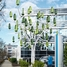 A wind tree feeds the e-vehicle charging station at Endress+Hauser Liquid Analysis in Gerlingen.