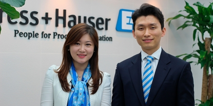 employee for Endress+Hauser Korea
